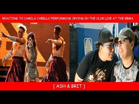 Reacting To Camila Cabello Performing Crying In The Club  At The Billboard  Awards