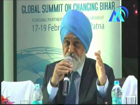 Montek Singh Ahluwalia speech on Global Meet