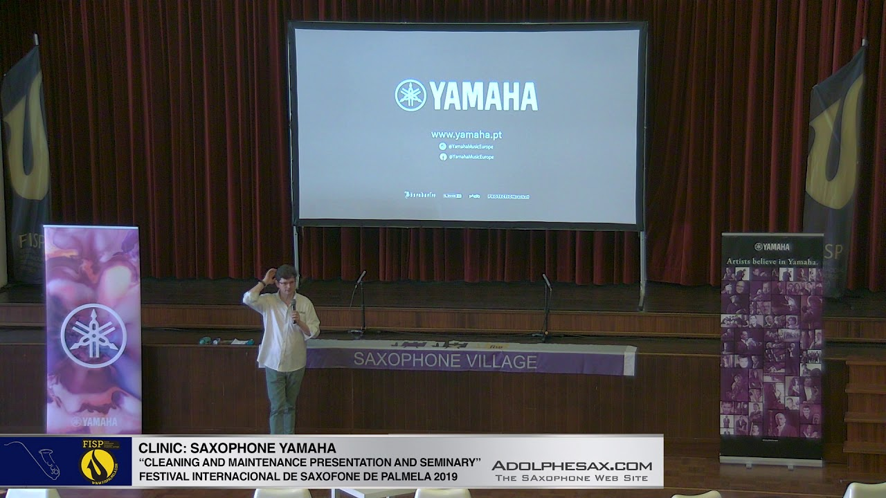FISPalmela 2019 - YAMAHA Cleaning and maintenance seminar
