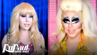 The Pit Stop S1 E2 🇨🇦 Trixie Mattel & Trinity The Tuck Kiki | Canada's Drag Race
