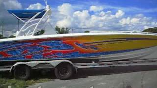 2003 Concept 36 Center Console Boat 36' w/ Fresh Engines