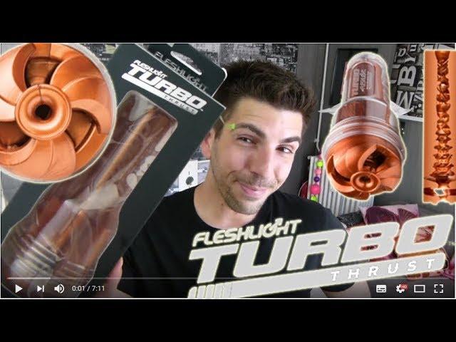 Fleshlight TURBO THRUST ! Le masturbateur qui passe les vitesses !