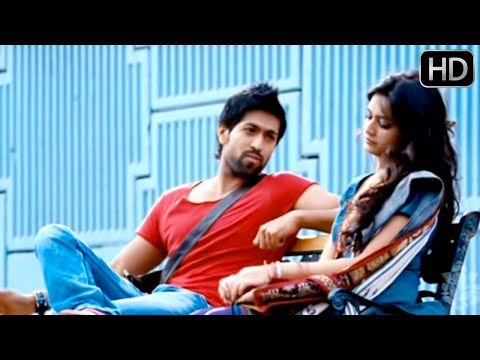 Kruthi finds Yash interesting | Kannada Movie | Kannada comedy scenes 49 | Yash,Sadhu kokila