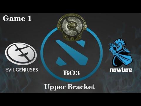 EG vs Newbee Highlights Game 1, TI 6 Main Event
