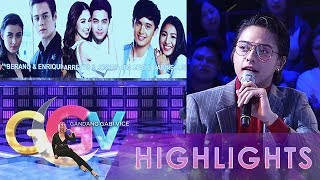 GGV: Daniel throws questions at JaDine, LizQuen, and JoshLia
