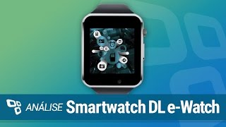 Smartwatch DL e-Watch [Análise] - TecMundo