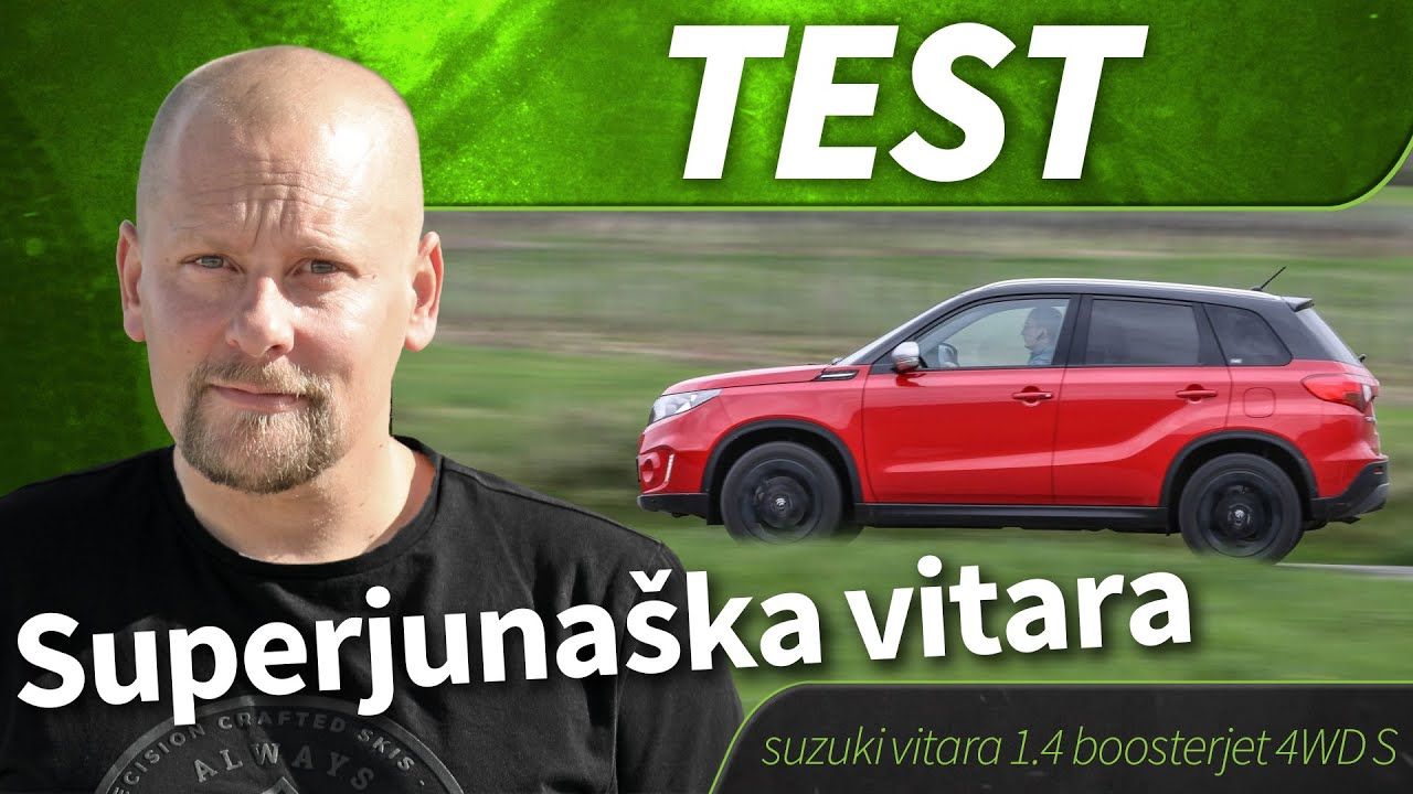 2016 suzuki vitara 1 4 boosterjet 4wd s test youtube. Black Bedroom Furniture Sets. Home Design Ideas
