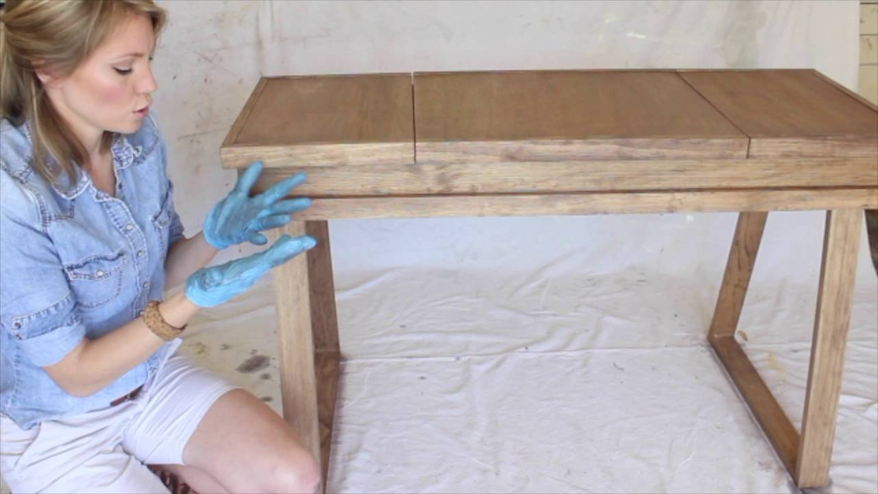 Creating A White Washed Weathered Oak Finish