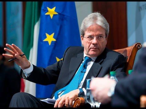 Washington, intervento e Q&A del Presidente Gentiloni al CSIS