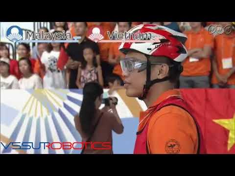 ABU ROBOCON 2017 Final match ( Vietnam vs Malaysia)