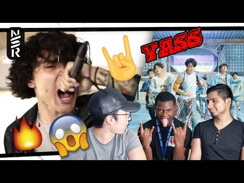 """GUYS REACT TO BTS (방탄소년단)""""FAKE LOVE"""" (Metal Cover by Lies Behind Your Eyes)"""