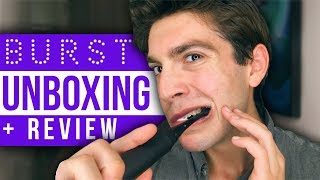 BURST Sonic Toothbrush UNBOXING + Review | david prater