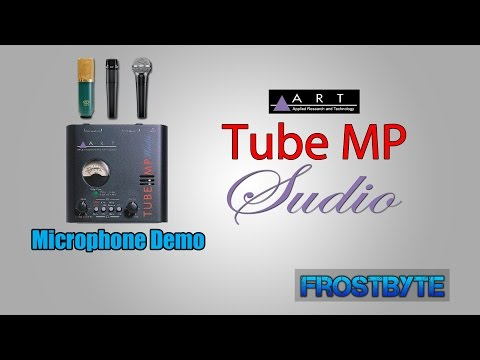 ART Tube MP Studio Mic PreAmp | Mic Demos