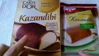 видео: Казандиби - турецкий молочный десерт с необычным вкусом.