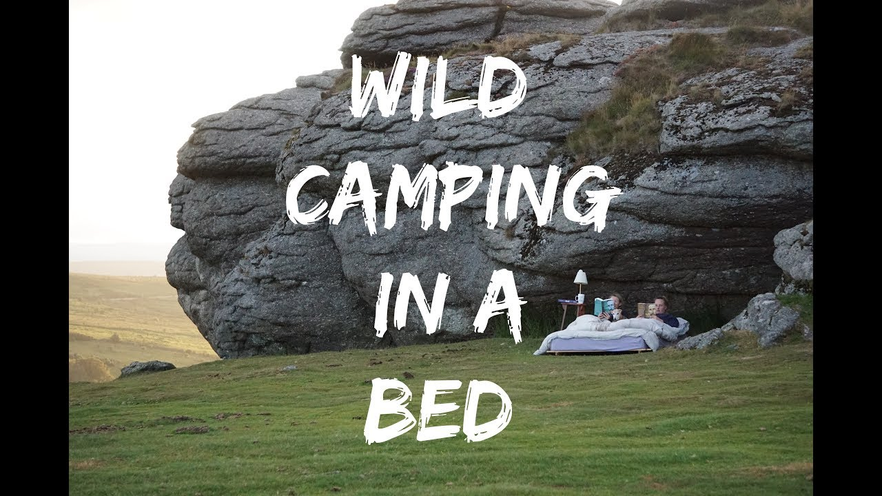 Wild Camping on Dartmoor (IN A ACTUAL BED) - YouTube