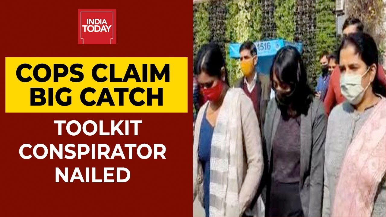 Download Greta Thunberg 'Toolkit' Case: Activist Disha Ravi Sent To 5-Day Delhi Police Special Cell Custody