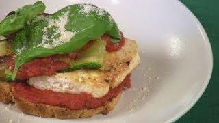 Grilled Italian Zucchini Tofu Sandwich