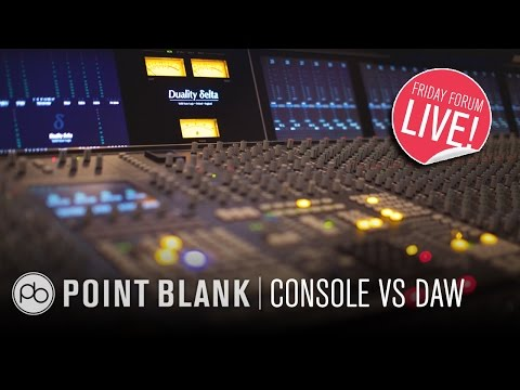 Mixing on Consoles vs DAWs w/ JC Concato (FFL!)