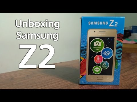 Samsung Z2 Unboxing (Indonesia) - Tizen OS (FI Review)