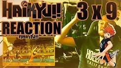 "Haikyu!! Season 3 - Episode 9 REACTION ""REACTION SPEED"""