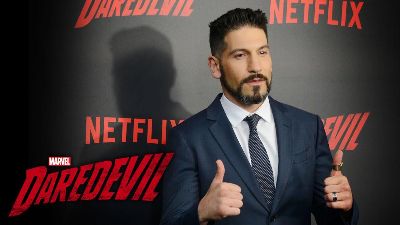 Jon Bernthal on the Punisher - Marvel's Daredevil Season 2 Red Carpet