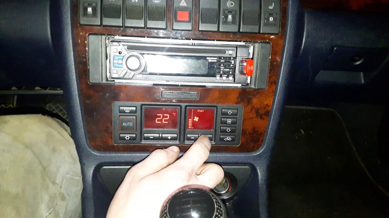 Audi A4 B5 - obsługa climatronic