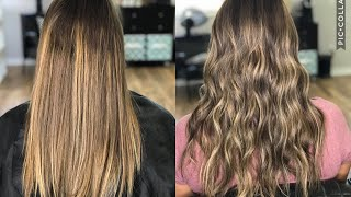 HOW TO FIX AN UNBLENDED BALAYAGE | COLOR CORRECTION |2018