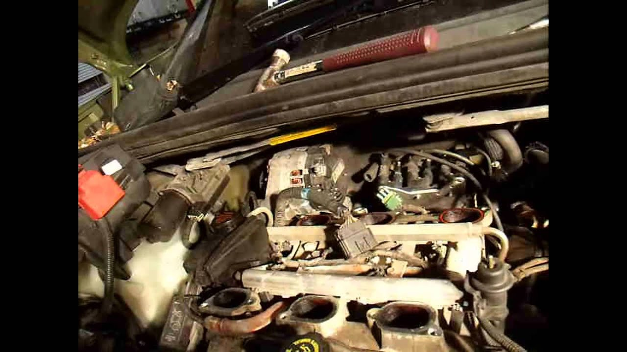 1967 Camaro Wiring Diagram 110v Plug Uk Gm 3400 3.4 Liter 3.1 Chevrolet How To Fix And Replace An Intake Manifold Gasket - Youtube