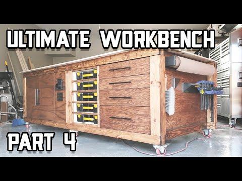 Ultimate Shop Table Build - Part 4