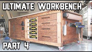 Finishing Touches on the Workbench // Ultimate Workbench Build