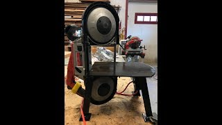 Portable Bandsaw Stand Build