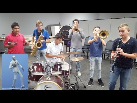 Fortnite Dances Played By Band Kids-Part 2 (with Defaults!)