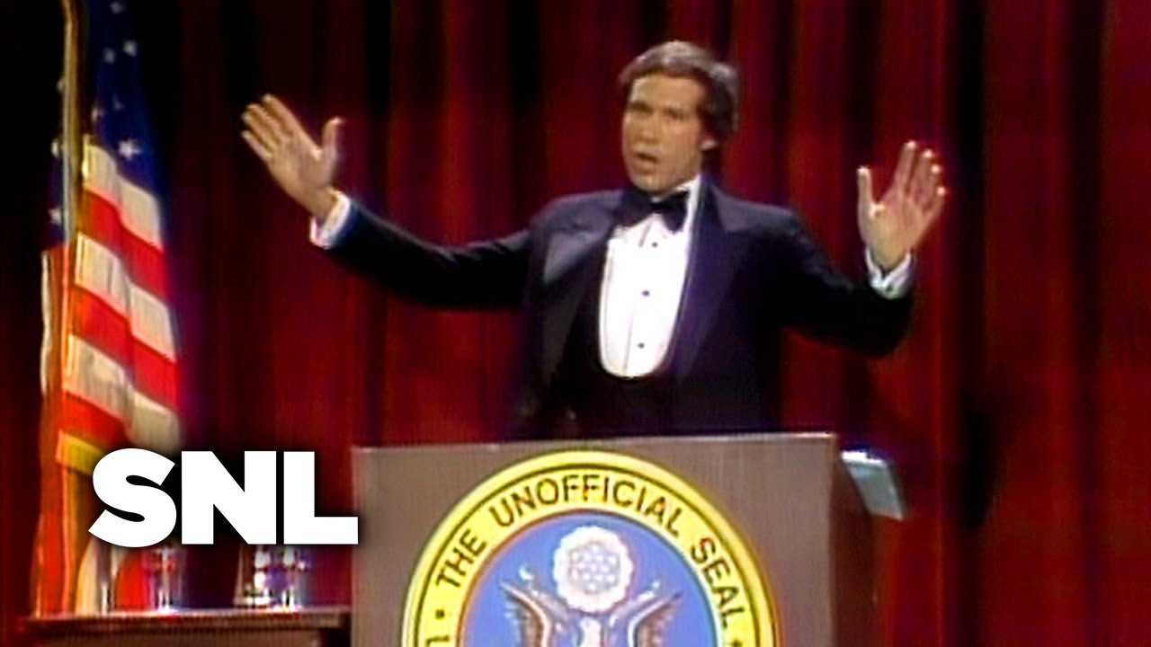 Introducing President Ford Snl Youtube