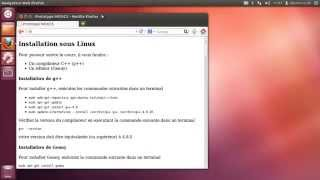 Formation Programmation en c++ Installation sous Linux Ubuntu 01 - 01