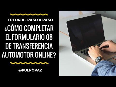 ¿Cómo Completar El Formulario 08 Automotor Online Para Transferencia De Autos Y Motos En Argentina?
