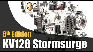 T'au Stormsurge Review 8th Edition 40k