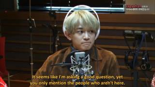 [eng sub] 161013 - If SHINee had younger sisters & SHINee members