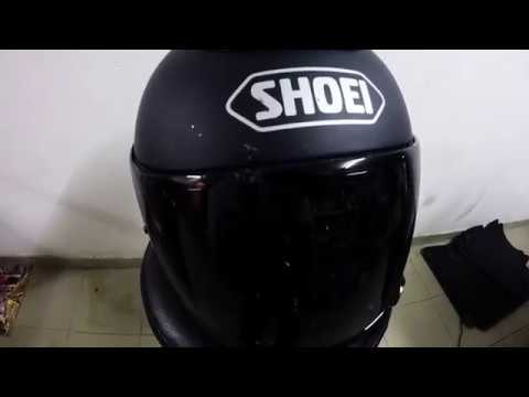 How to: Clean a Matt helmet & Visor 👌