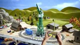 Fisher Price -  TrackMaster - Thomas & Friends - Cranky and Flynn Save the Day Playset thumbnail