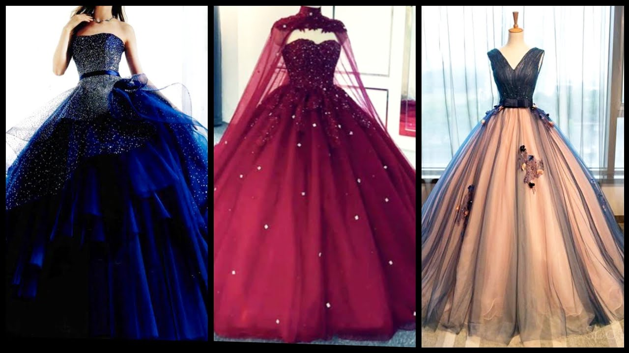 Gorgeous and stunning designer glittery ball gowns and maxi designs for parties and wedding