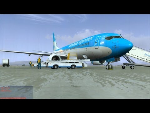 "[FSX] NGX Aerolíneas Argentinas to the ""End of the World""."