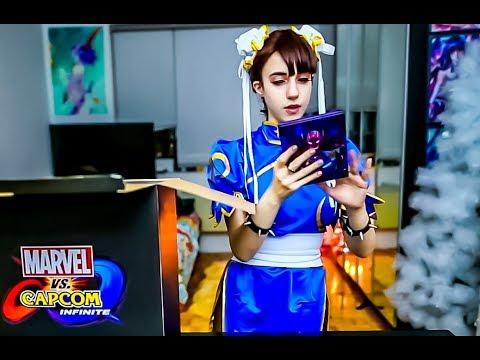 li amazon Chun cosplay
