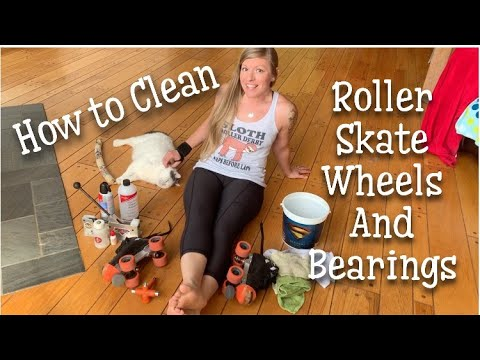How to Clean Roller Skate Wheels and Bearings for Roller Derby
