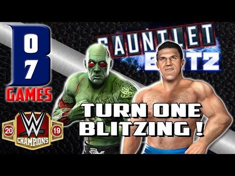 WWE CHAMPIONS - MODERN Vs LEGEND - TURN ONE BLITZING