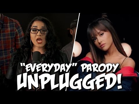 "Ariana Grande ""Everyday"" Ft. Future PARODY! The Key Of Awesome UNPLUGGED"