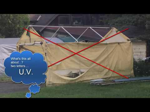 Portable Shelters  - Make them last 10 years!