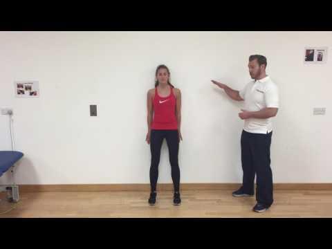 Squat against wall