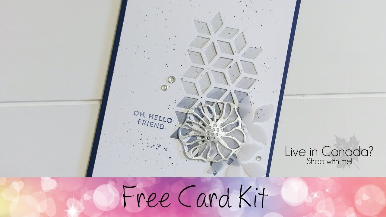 FREE CARD KIT FOR AUGUST 2017 Featuring Stampinu0027 Up!® Products