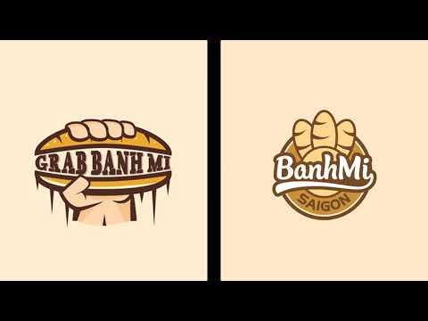 Thiết Kế Logo Bánh Mì (GIẢM 50%) - Liên Hệ: 0983400168