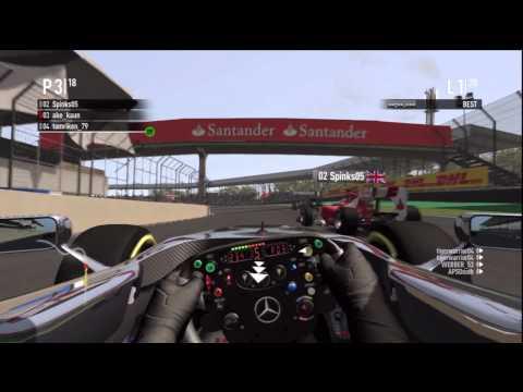 F1 2011 Realistic Crash Compilation